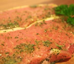 Garlic French Herb Pork Steaks