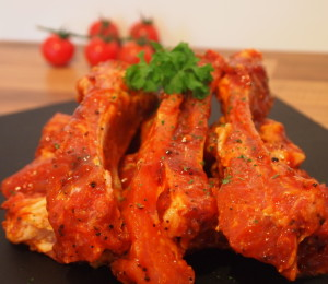 Meaty Pork Ribs In BBQ Sauce