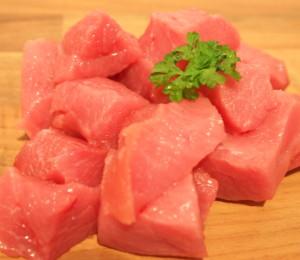 Diced Lean Pork Cubes 2x450g