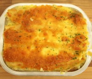 Cumberland Pie with Cheese Mash