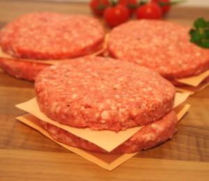 Homemade Lamb Burger